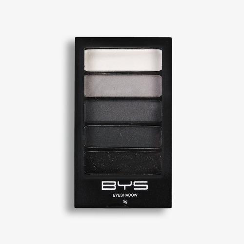 bys cosmetics paleta de sombras  5 piezas