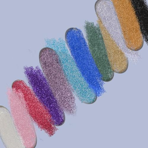 bys cosmetics paleta de sombras con glitter en gel - glitter