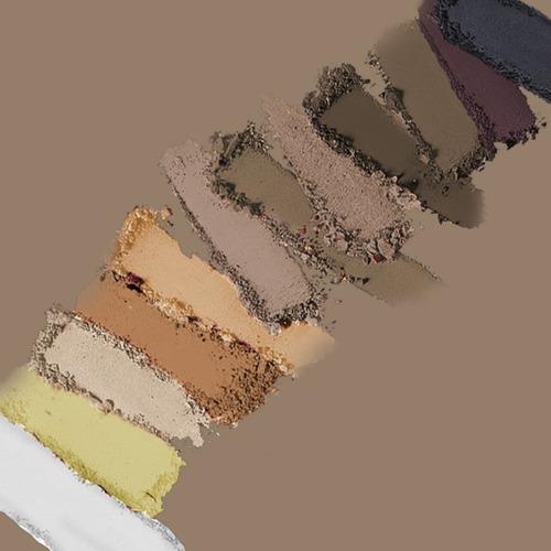 bys cosmetics paleta de sombras - mate