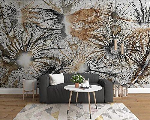 Bzdhwwh Custom Wallpaper Home Decor Mural Europea Retro Abst