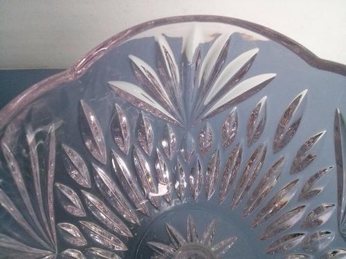 c- 002 lindíssimo centro de mesa em cristal