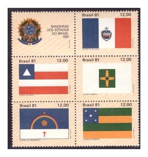 c-1231 c-1232 c-1233 c-1234 c-1235 1981 bandeiras estado i