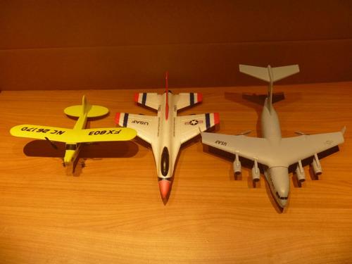 c-17 . avión control remoto. dos canales.