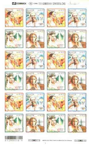 c-2072/75 - 1998 - série américa, mulheres.