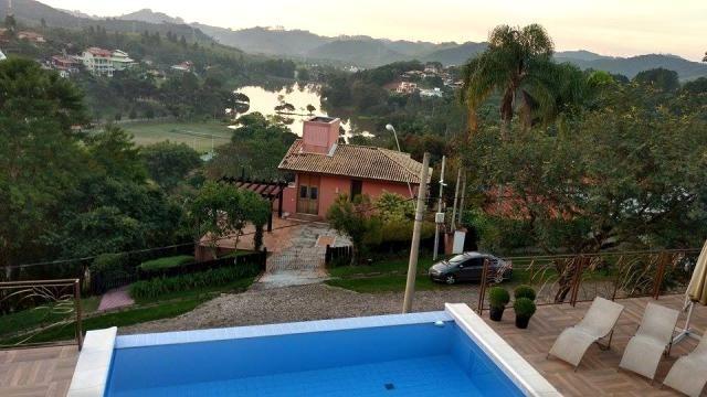 c-2259  casa com vista maravilhosa á venda no condomínio alpes - guararema  - 1910