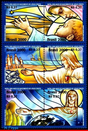 c-2347-52 - série natal 2000 - 200 anos nasc.de jesus cristo
