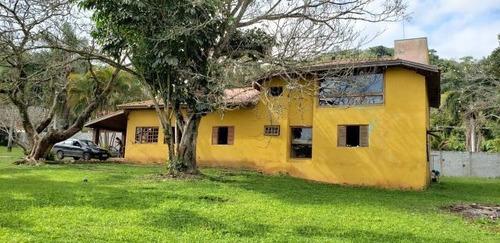 c-2470 casa de campo no bairro do itaoca - guararema - sp - 2432