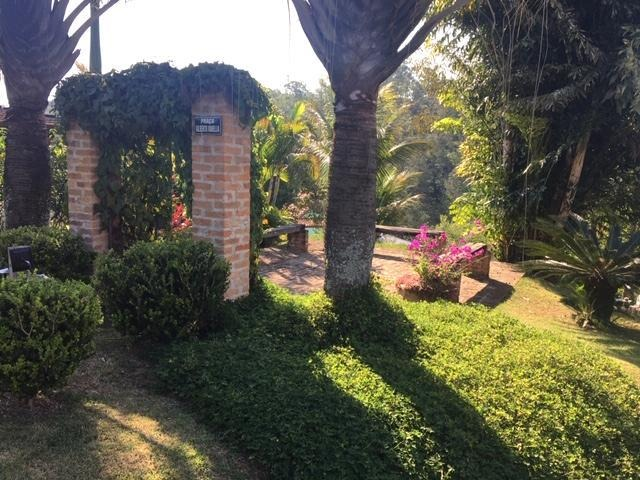 c-2483 linda casa estilo rústico no condomínio alpes de guararema - sp - 2460