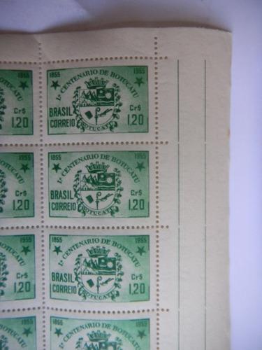 c 362 centenário de botucatu - são paulo - 1955