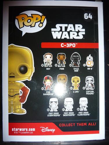 c-3p0 c-3po c3po c2p0 star wars 7 force awakens funko pop