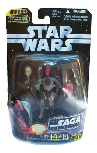 c-3po with battle droid head saga no.17 star wars