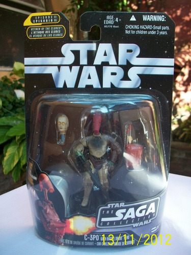 c-3po with battle droid head saga no.24 star wars
