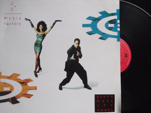 c + c music factory - lp album importado - gonna make you