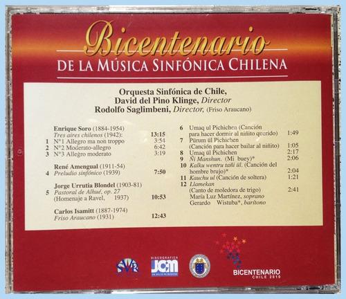 c d  bicentenario de la música sinfónica chilena.