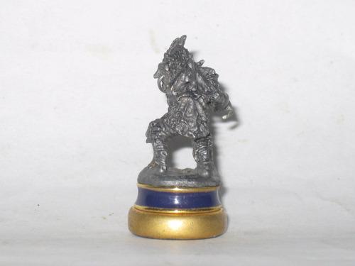 c el señor de los anillos pieza ajedrez figura plomo mide5cm