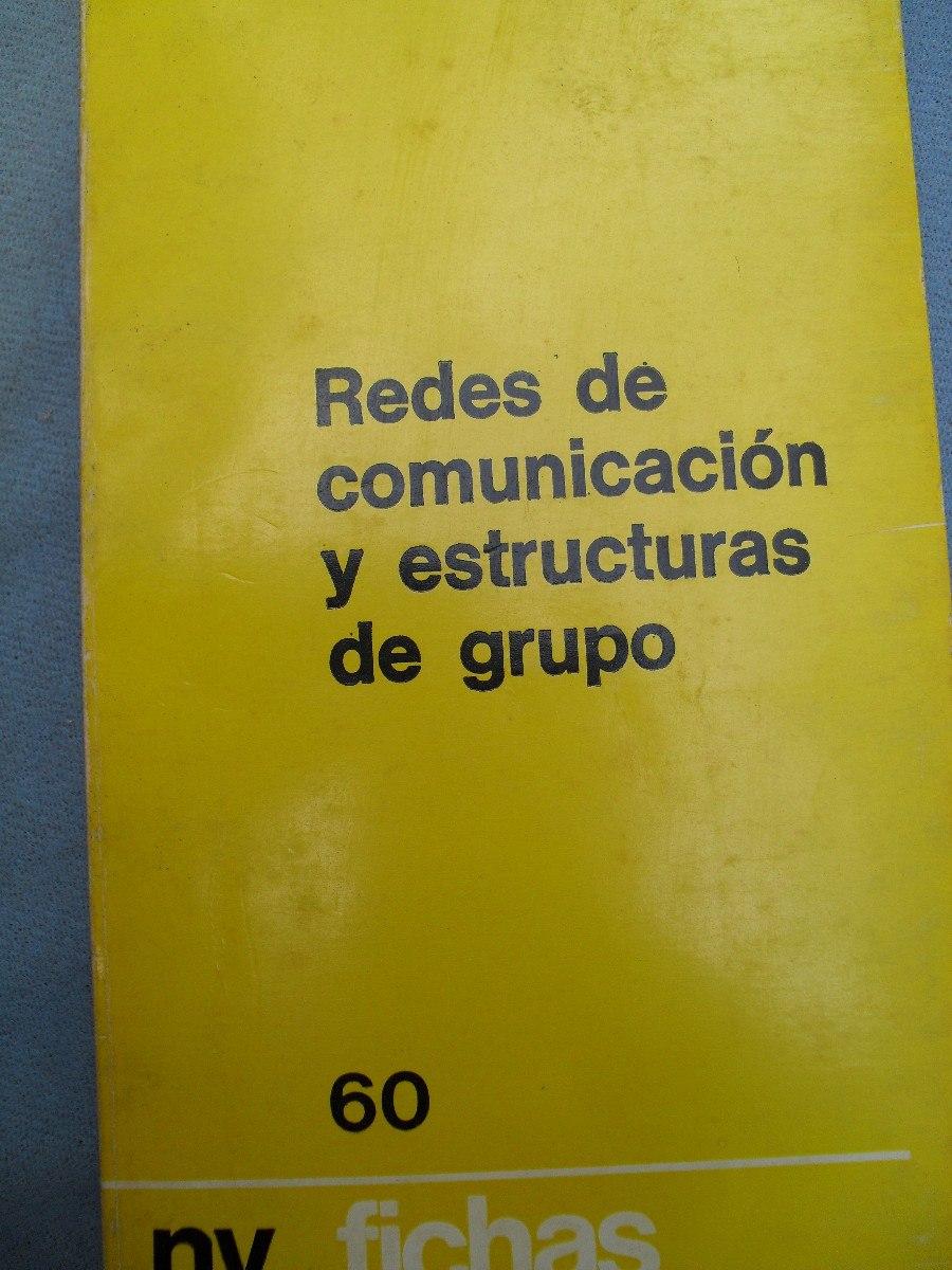 C Flament Redes De Comunicación Y Estructuras De Grupos 90 00