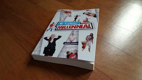 c) libro impreso re-evolución millennial 10% off