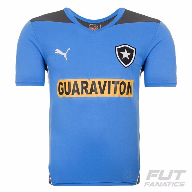 C  Nota Fiscal Camisa Botafogo Treino Oficial Puma Azul 2014 - R  84 ... d058e2f5b7e7e