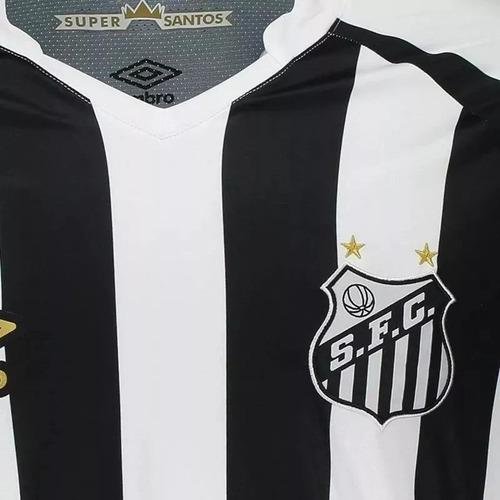 ef13fafb05 C  Nota Fiscal! Camisa Santos Home Oficial 2 Umbro 2018 2019 - R ...