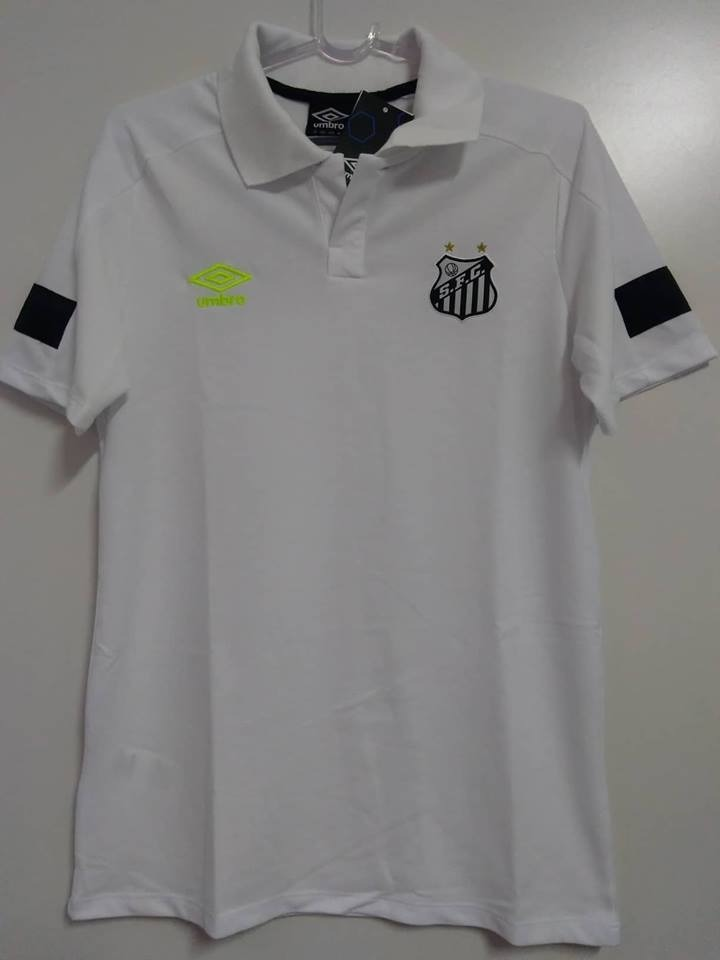 e3f6d23b9e C  Nota Fiscal! Camisa Santos Polo Viagem 2018 Oficial Umbro - R ...