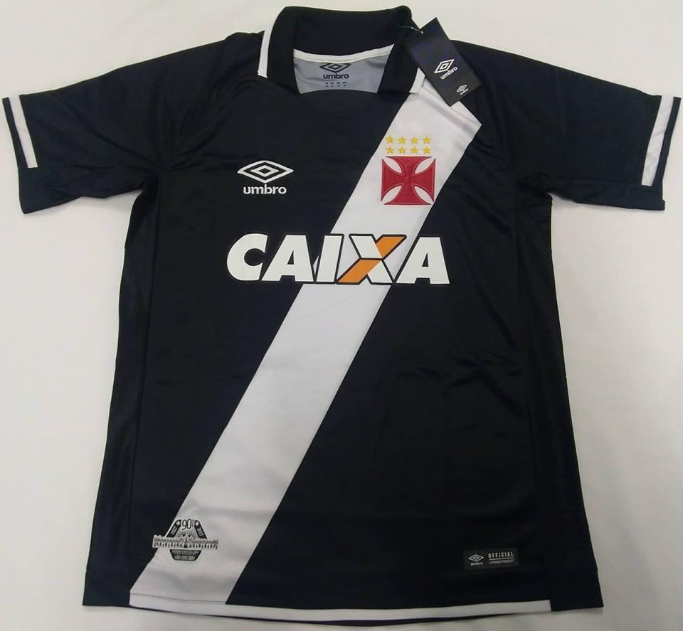 e14561e956 C  Nota Fiscal! Camisa Vasco Oficial Umbro 2017 2018 Nova - R  159 ...