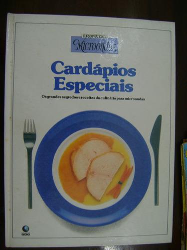 c. prático de microondas cardápios especiais
