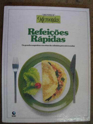 c. prático de microondas refeições rápidas