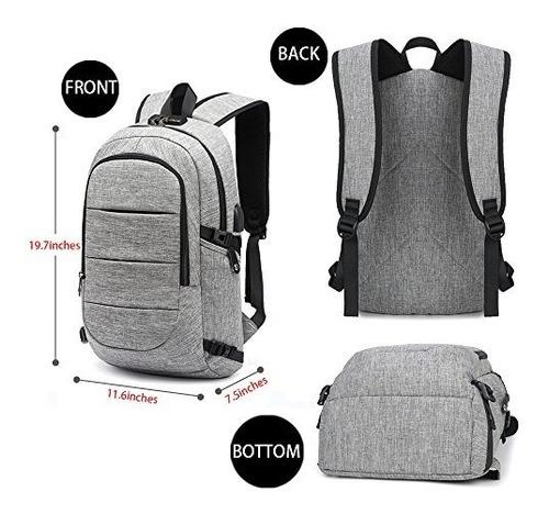 c-space negocio impermeable mochila resistente del ordenador