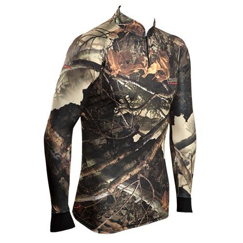 c001 camiseta sublimada de pesca protecao solar hunter brk
