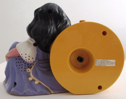 c0167  relógio com esmeralda, personagem do filme corcunda d