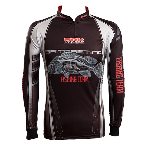 c068 camiseta sublimada de pesca protecao solar baitcasting