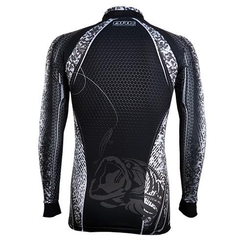 c069 camiseta sublimada de pesca protecao solar extreme brk