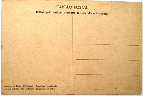 c0722  cartão postal de dercy lau -aspectos do brasil - o no
