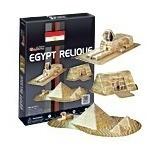 c077h rompecabezas 3d cubicfun relíquias de egipto 38 piezas