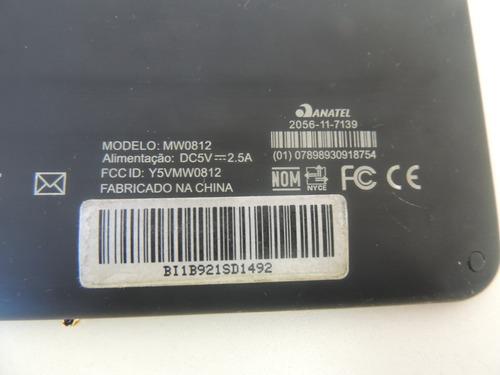 c1 tampa traseira tablet aoc mw0812 usado