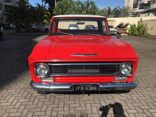 c10 1972 placas pretas impecavel