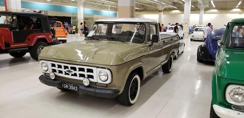c10 1979, direção hidraulica , freio a disco, placa preta