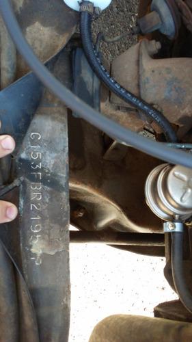 c10 eixo longo 6 cilindros cambio na coluna