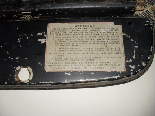 c10  -  tampa  porta  luvas  original c/selo de  fabrica  -