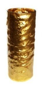 c126 florero de cristal dorado ch