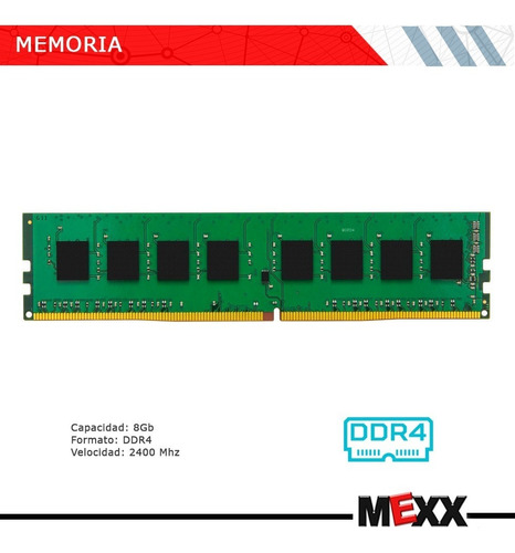 c128 combo actualizacion amd ryzen 7 2700 8gb ddr4 mexx2