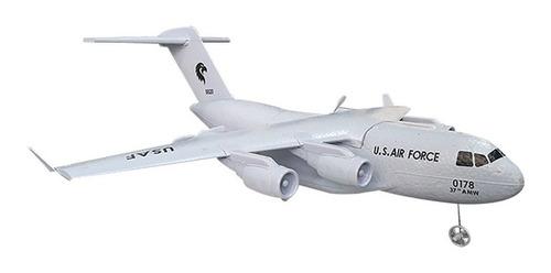c17 c-17 transporte 373mm envergadura epp diy rc avión rtf