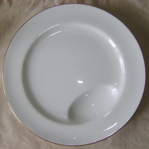 c1920 plato para espárragos esparraguera porcelana inglesa