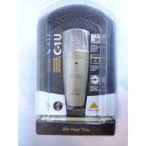 c1u microfone condesador usb behringer c1 u prof.estudio