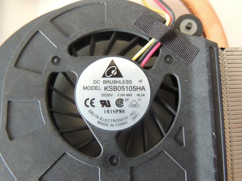 c2 cooler+ dissipador notebook hp dv5 2112br usado