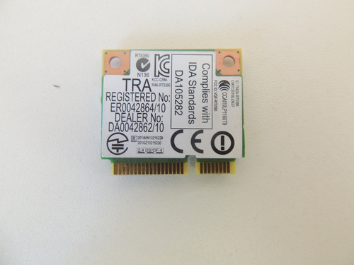 c2 rede wireless+bluetooth rt5350 notebook asus x55u usado