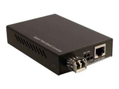 c2g 10/100/1000 base-tx a 1000base lc convertidor de medios