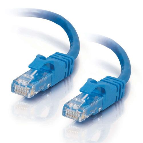 c2g 20 pies (6.1m), cat6, cable de remiendo de snagless, azu