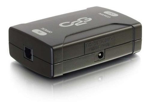 c2g-cables to go 40019 convertidor óptico de audio digital c