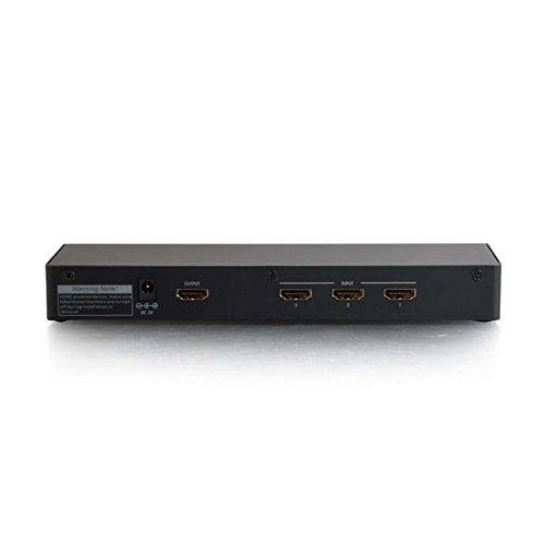 c2g/cables para ir 41500 4-port hdmi interruptor selector